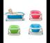 อ่างอาบน้ำเด็ก แบบพับได้ ( สีฟ้า ) Baby Folding Bath Tub