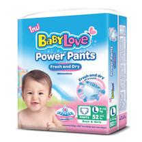 BabyLove กางเกงผ้าอ้อม เบบี้เลิฟ พาวเวอร์ แพ้นส์ ไซส์ L 52 ชิ้น