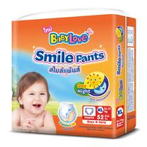 BabyLove Smile Pants กางเกงผ้าอ้อมสำเร็จรูป ไซส์ XL 52 ชิ้น