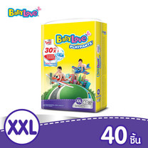 BabyLove PlayPants Nano Power Plus กางเกงผ้าอ้อมเด็ก ขนาดจัมโบ้(ใหญ่) ไซส์ XXL (40 ชิ้น)