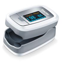 Beurer เครื่องวัดปริมาณออกซิเจนในเลือด และอัตราการเต้นของหัวใจ Pulse Oximeter รุ่น PO30