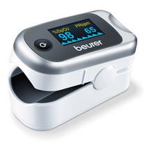 Beurer เครื่องวัดปริมาณออกซิเจนในเลือด และอัตราการเต้นของหัวใจ Pulse Oximeter รุ่น PO40