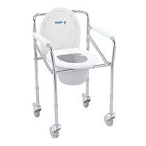Hospro เก้าอี้นั่งถ่าย แบบมีล้อ Commode chair รุ่น H-CM705