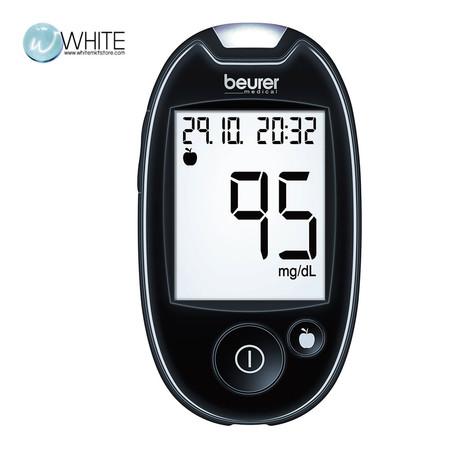 Beurer เครื่องตรวจวัดน้ำตาลในเลือด Blood glucose monitor/ เบาหวาน Glucometer รุ่น GL44