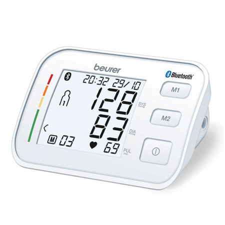 Beurer เครื่องวัดความดันโลหิต ที่ต้นแขน Upper arm Blood Pressure Monitor รุ่น BM57