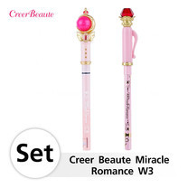 Creer Beaute Miracle Romance Set W3  (Cutie Moon Rod Liquid Eyeliner Brown + Hensoupen Pencil Eyeliner Black)