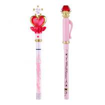 Creer Beaute Miracle Romance Birthday Set B (Pink Moon Stick Liquid Eyeliner Black + Hensoupen Pencil Eyeliner Black) Free Gashapon คละแบบ