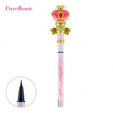 Creer Beaute Miracle Romance Spiral Heart Moon Rod Liquid Eyeliner Black - 0.4 ml