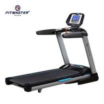 Fitmaster ลู่วิ่งไฟฟ้า Motorized Treadmill เครื่องออกกำลังกาย รุ่น V6 มอเตอร์ระบบ DC 5 แรงม้า (Peak) - Grey