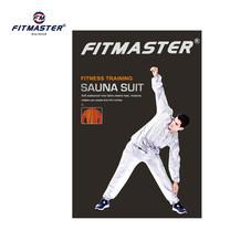 FITMASTER ชุดซาวน่า Sauna Suit รุ่น SS9010 - สีเงิน