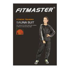FITMASTER ชุดซาวน่า Sauna Suit รุ่น SS9020 - สีดำ