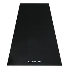 FITMASTER พรมยางรองเครื่องออกกำลังกาย Fitness Equipment Mat - Black