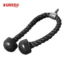 GRIZZLY FITNESS EXTRA LONG TRICEP ROPE 36 inches