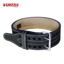 GRIZZLY FITNESS DOUBLE PRONG POWER LIFTING BELT