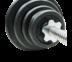 GRAND BODY SMITH BARBELL BENCH W/WEIGHT STACK SET 40KG ม้าบริหารบาร์เบล DDS 7302 พร้อมคานและแผ่นน้ำหนัก 40 กก.
