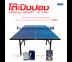 Grand Sport Table Tennis Table - โต๊ะเทเบิลเทนนิสแกรนด์สปอร์ต MDF 15 mm. (แบบขาตั้ง) แถมฟรี เน็ต+ไม้