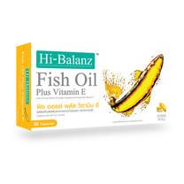 Hi-Balanz Fish Oil Plus Vitamin E (30 Caps)