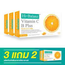 Hi-Balanz Vitamin C B Plus (30 Caps.) / 3 แถม 2