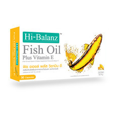 Hi-Balanz Fish Oil Plus Vitamin E (30 Caps)