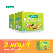Hi-Balanz KDTX Plus (10 Sachets) / 2 แถม 1