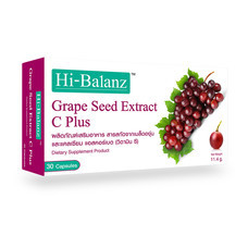 Hi-Balanz Grape Seed Extract C Plus (30 Caps)