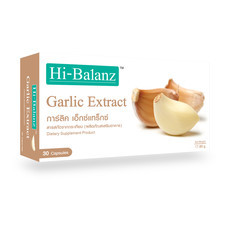 Hi-Balanz Garlic Extract (30 Caps.)