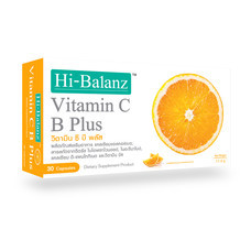 Hi-Balanz Vitamin C B Plus (30 Caps.)