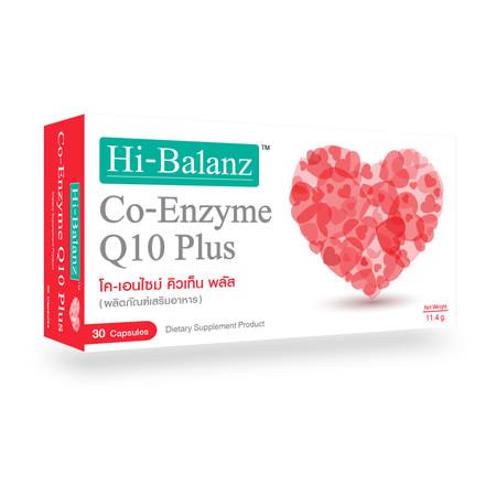 Hi-Balanz Co-Enzyme Q10 Plus (30 Caps.)