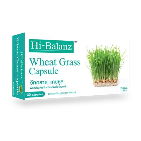 Hi-Balanz Wheat Grass (30 Caps)