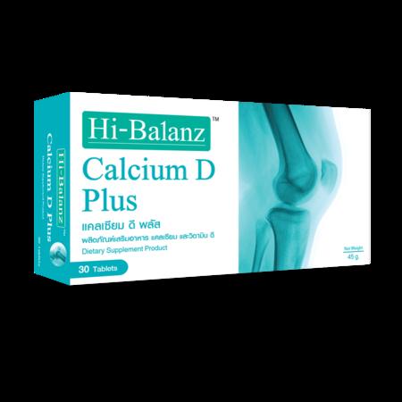 Hi-Balanz Calcium D Plus (30 Caps.)
