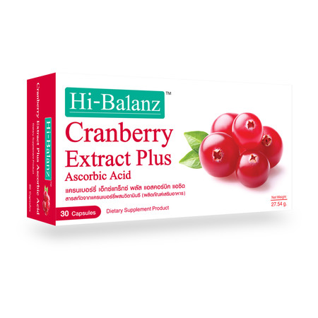 Hi-Balanz Cranberry Extract Plus (30 Caps.)