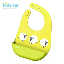 Easy Clean Bib - Lime