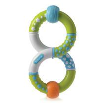 kidsme Twist & Learn Ring Rattle ของเล่นเสริมพัฒนาการเด็กประเภทห่วงบิดและกัดได้