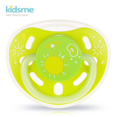 Glow-in-the-dark Pacifier (M Size Nipple) - Lime