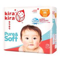Kira Kira Pure & Soft Pants Jumbo ผ้าอ้อมเด็ก Pack M 54 ชิ้น