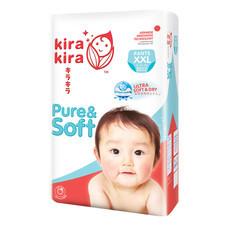 Kira Kira Pure & Soft Pants Jumbo ผ้าอ้อมเด็ก Pack XXL 32 ชิ้น (Free Kira Kira Baby Top to Toe Wash 400 ml.)