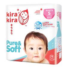 Kira Kira Pure & Soft Pants Jumbo Pack S (ยกลัง 60 ชิ้น x 3 แพ็ค)