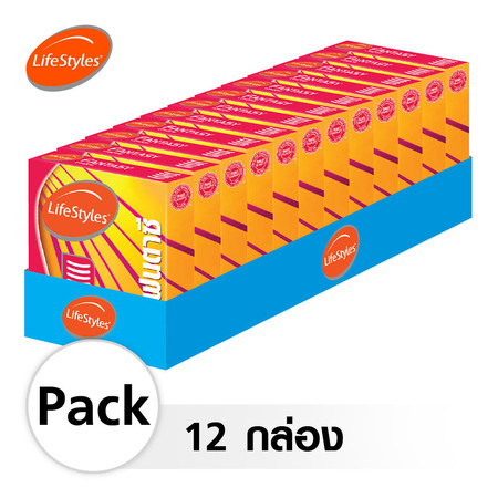 Lifestyles Fantasy ถุงยางอนามัย 52 มม. (12 กล่อง)