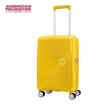 American Tourister กระเป๋าเดินทางล้อลาก 20 นิ้ว รุ่น CURIO SPINNER 55/20 TSA - Golden Yellow
