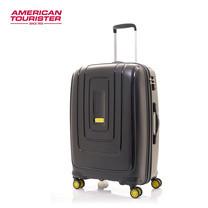 American Tourister กระเป๋าเดินทางล้อลาก 25 นิ้ว รุ่น Lightrax Spinner 69/25 TSA - Black
