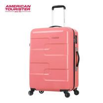 AMERICAN TOURISTER กระเป๋าเดินทาง ขนาด 29 นิ้ว รุ่น PUZZLE CUBE SPINNER 78 - CORAL