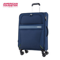 American Tourister กระเป๋าเดินทางล้อลาก 24 นิ้ว รุ่น OREGON SPINNER 67/24 EXP TSA - True Navy