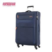 American Tourister กระเป๋าเดินทางล้อลาก 31 นิ้ว รุ่น SKI SPINNER 82/31 TSA - Navy/Orange