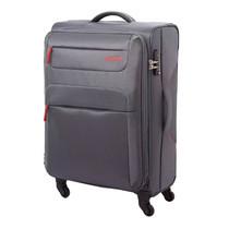 American Tourister กระเป๋าเดินทาง รุ่น SKI SPINNER 55/20 TSA (20 นิ้ว) สี GREY/RED