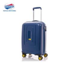 American Tourister กระเป๋าเดินทางล้อลาก 20 นิ้ว รุ่น Lightrax Spinner 55/20 TSA - Marine Blue