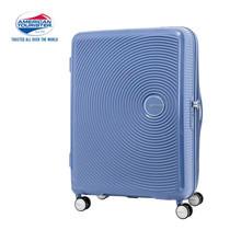 American Tourister กระเป๋าเดินทางล้อลาก 25 นิ้ว รุ่น Curio Spinner 69/25 EXP TSA - Denim Blue