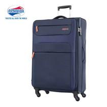 American Tourister กระเป๋าเดินทาง รุ่น SKI SPINNER 82/31 TSA (31 นิ้ว) สี NAVY/ORANGE