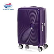 American Tourister กระเป๋าเดินทางล้อลาก 20 นิ้ว รุ่น Curio Spinner 55/20 TSA - Purple