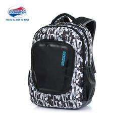 American Tourister กระเป๋าเป้สะพายหลัง รุ่น Zook+ Backpack 01 A - Black Print