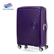 American Tourister กระเป๋าเดินทางล้อลาก 25 นิ้ว รุ่น Curio Spinner 69/25 EXP TSA - Purple